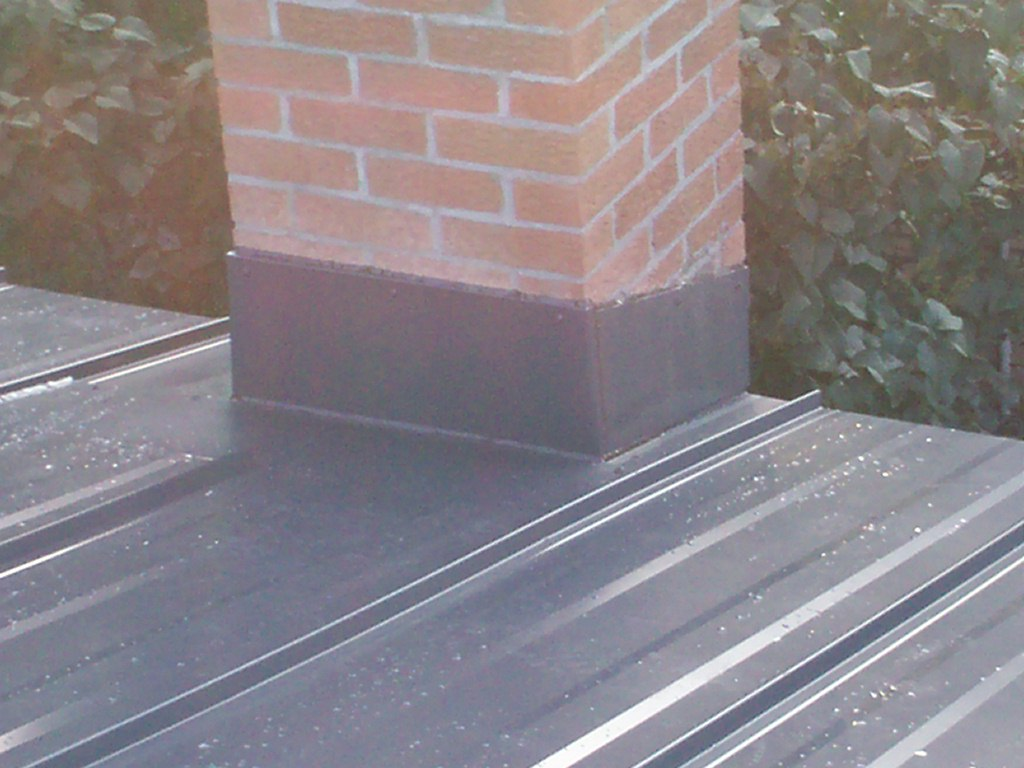 Metal Roof Chimney Flashing Mackey Metal Roofing