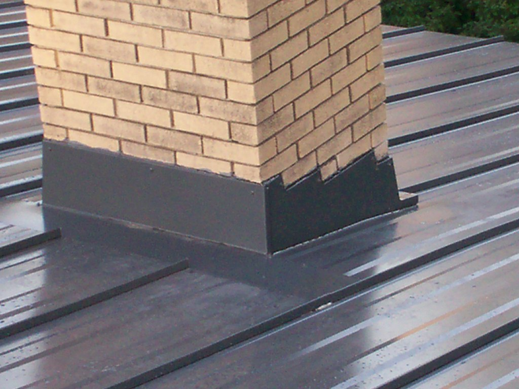 metal roof chimney flashing - Metal Roof Flashing