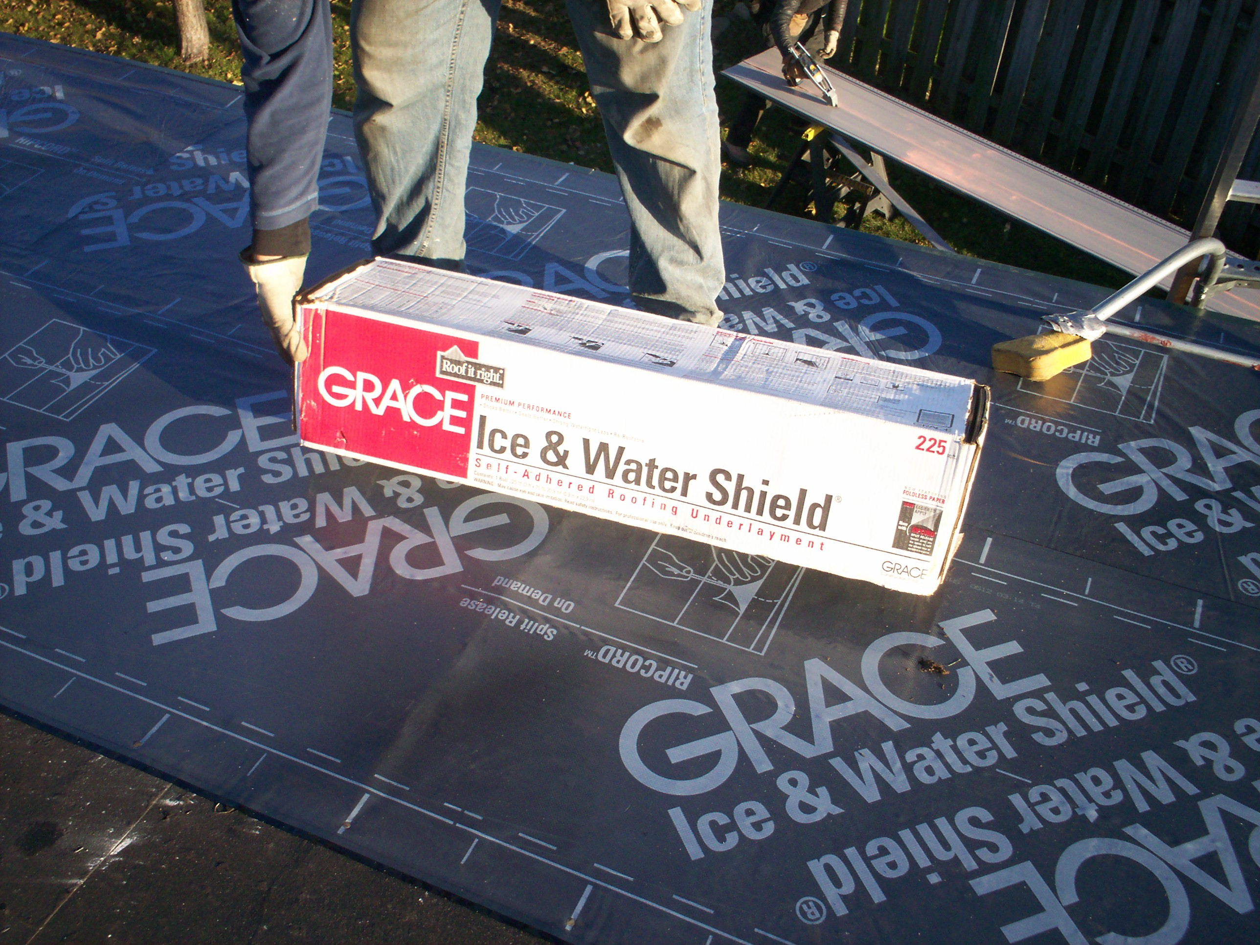 Grace Ice Amp Water Shield Mackey Metal Roofing