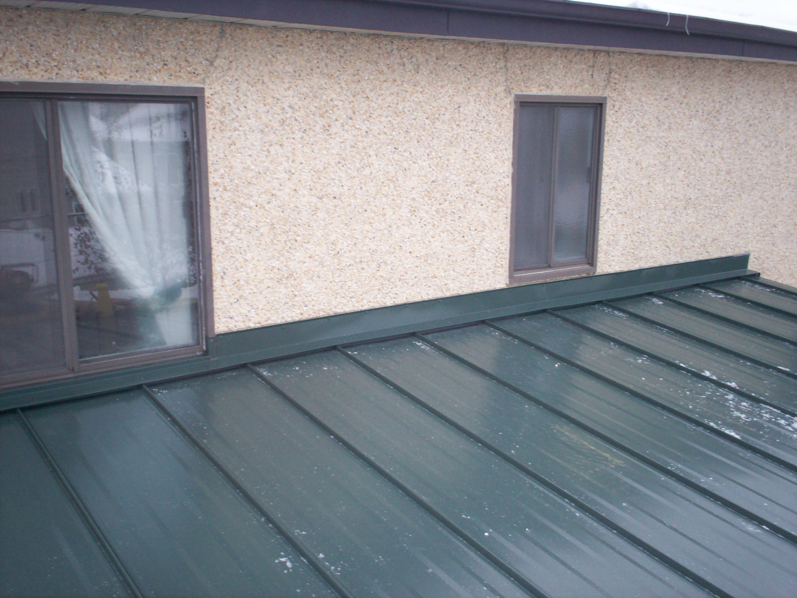 Metal Roof Wall Amp Window Flashing Mackey Metal Roofing