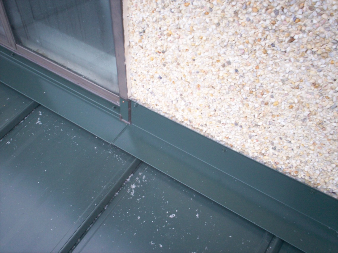 Image Result For Metal Roof To Wall Flashing De S